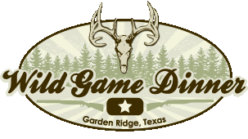 12th Annual Garden Ridge Wild Game Dinner